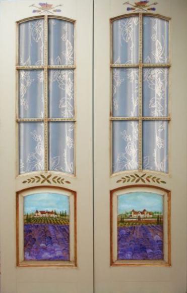 дверь поля прованса