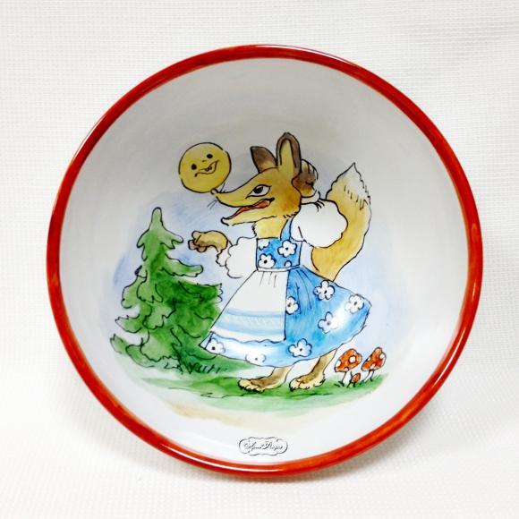 """Миска глубокая  """"Колобок """", набора детской посуды ."""
