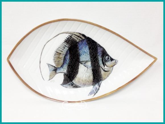 "Тарелка "" Рыба "" № 5 , 20 х 34 см"