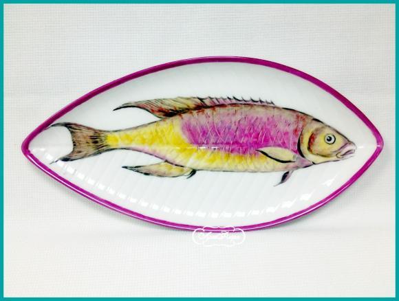"Тарелка "" Рыба "" № 4 , 14 х 25 см"