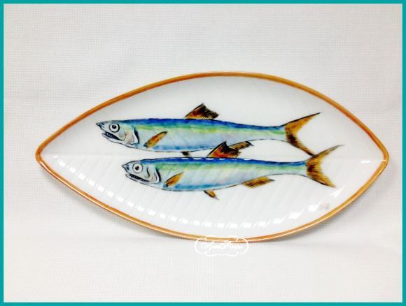 "Тарелка "" Рыба ""  , 14 х 21 см"