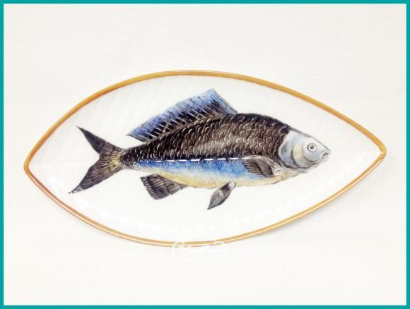 "Тарелка "" Рыба "" № 2 , 14 х 21 см"