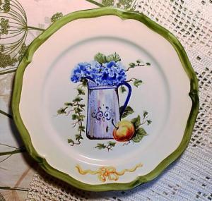 тарелка 9